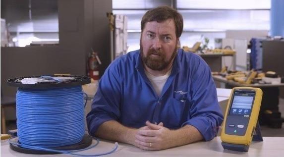 بررسی چگونه تست کردن یک حلقه کابل شبکه 305 متری
