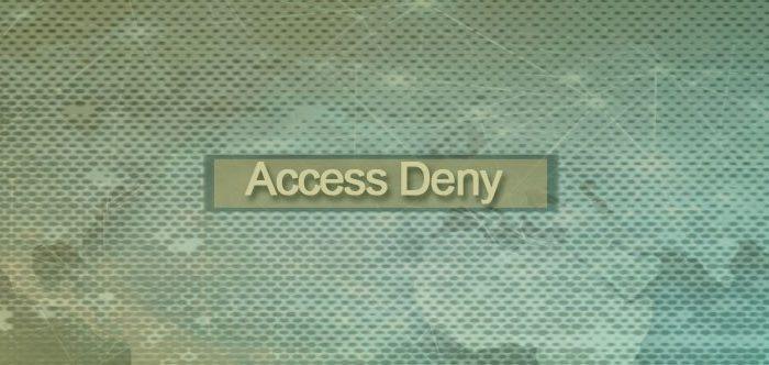 نحوه تغییر صفحه Access Deny در وب پروکسی بر اساس نیاز