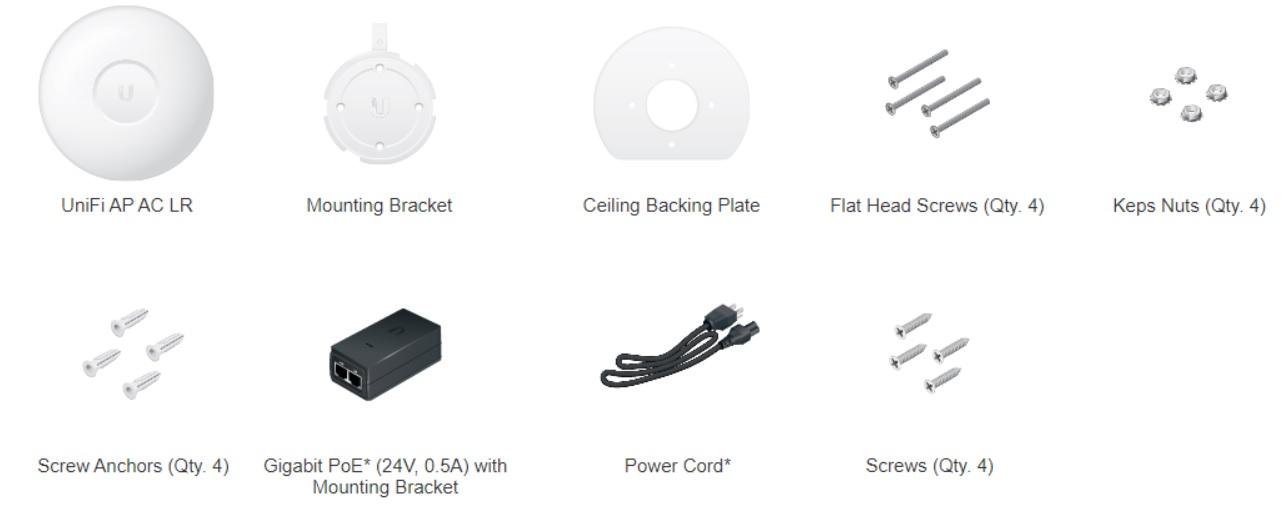 لوازم جانبی همراه اکسس پوینت یونیفای مدل UAP AC Lite