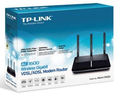 مودم تی پی لینک مدلArcher VR600_V2 با پشتیبانی از ADSL و VDSL