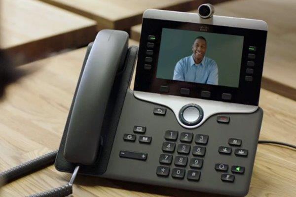 تلفن آی پی تصویری سیسکو مدل CP-8865