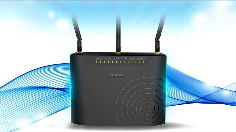 مودم D-Link مدل DSL-2877AL که برای تکنولوژیهای ADSL و VDSL استفاده می شود.