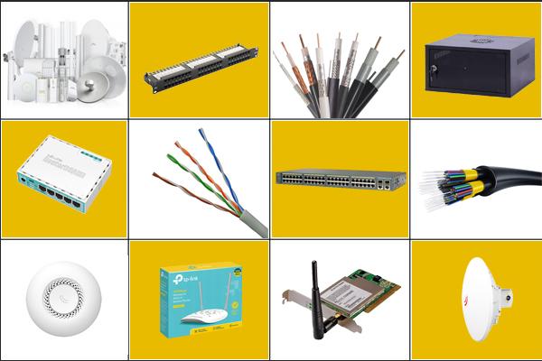 انواع تجهیزات شبکه اکتیو و پسیو