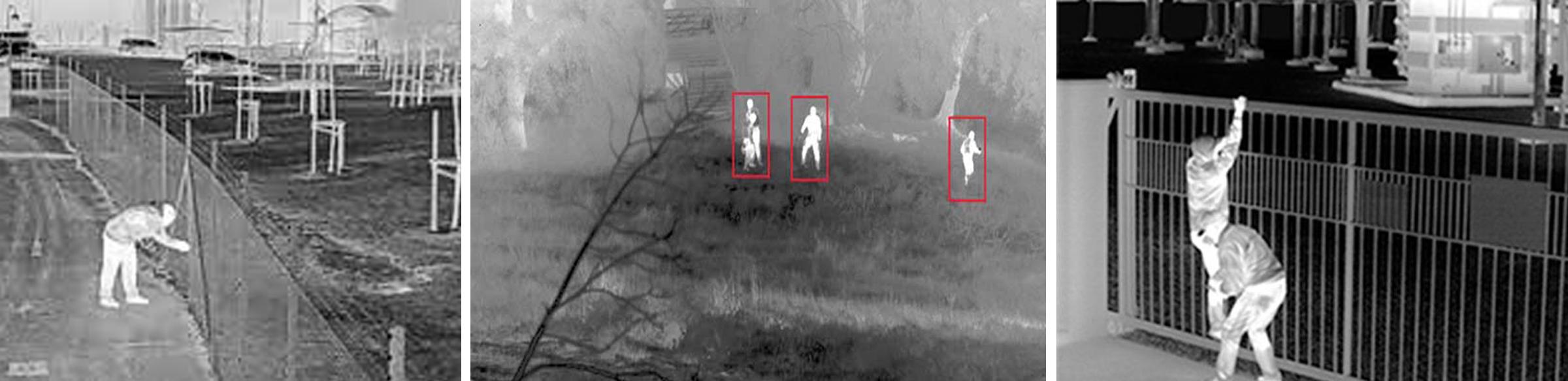 تصویر دوربین های مداربسته حرارتی