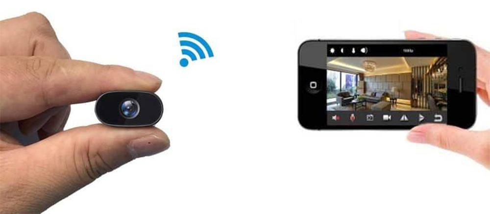 دوربین مداربسته مخفی تحت شبکه و نمایش تصویر در گوشی آیفون