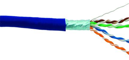 کابل شبکه Shielded Twisted Pair یا STP