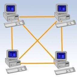 توپولوژی مش از انواع توپولوژی های شبکه