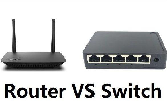تفاوت روتر شبکه و سوئیچ شبکه