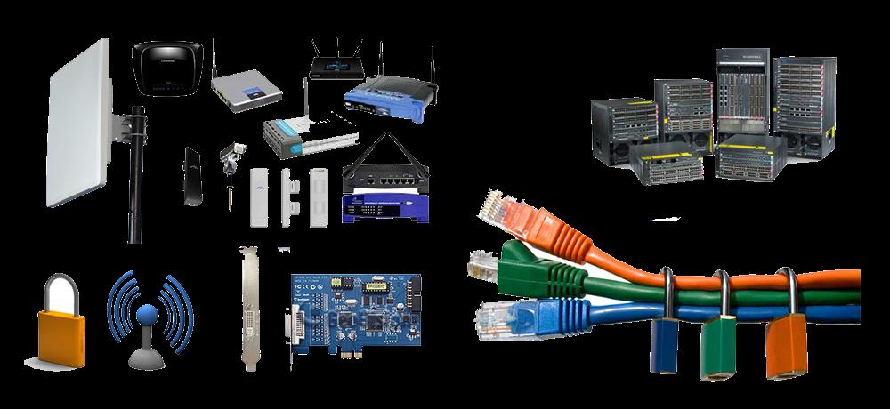 تجهیزات اکتیو و تجهیزات پسیو در یک شبکه کامپیوتری