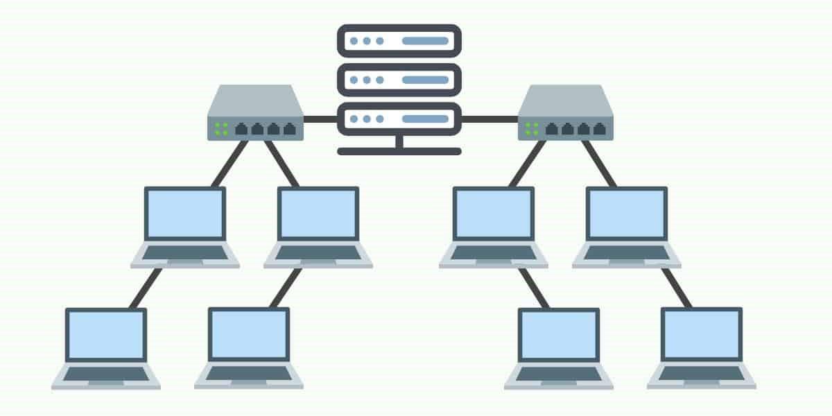توپولوژی درختی از انواع توپولوژی شبکه