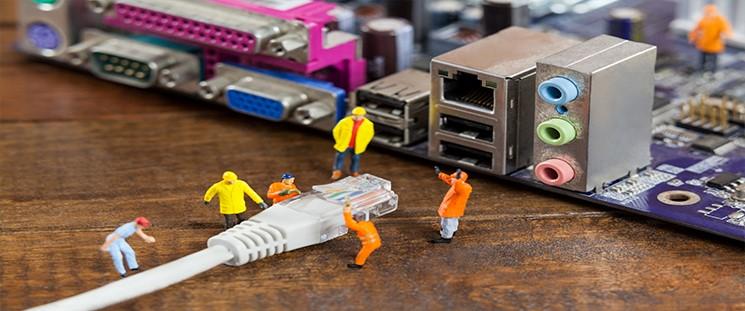 اجرای کابل کشی شبکه