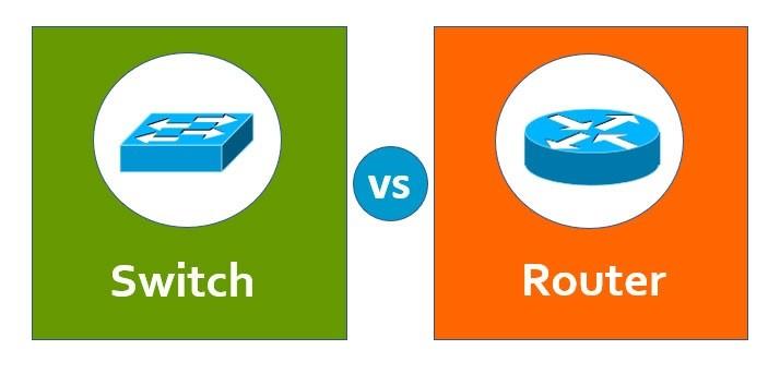 تفاوت سوئیچ با روتر