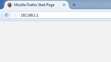 آی پی ورود به تنظیمات مودم تی پی لینک در آدرس بار مرورگر