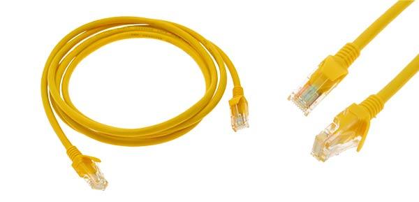 کابل شبکه برای تنظیمات اینترنت مخابرات