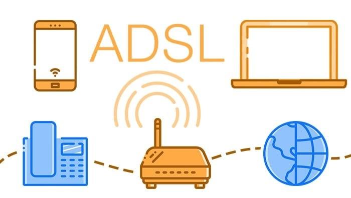 تنظیمات اینترنت مخابرات برای ADSL