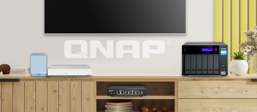 داشتن خانه ای هوشمند با تجهیزات qnap